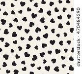 seamless monochrome pattern... | Shutterstock .eps vector #470484290