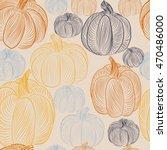 vector seamless pattern of... | Shutterstock .eps vector #470486000