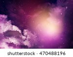space of night sky with cloud... | Shutterstock . vector #470488196