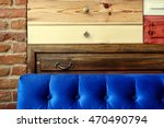 colorful wooden drawer and