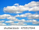 Big Fluffy White Clouds In Dee...