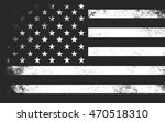 usa flag in grunge style.... | Shutterstock .eps vector #470518310