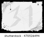halloween abstract background... | Shutterstock . vector #470526494