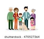 family. parents  children ... | Shutterstock .eps vector #470527364