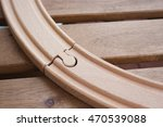 Close Up Of A Wooden Toy Train...