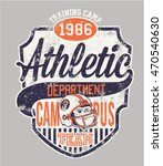 gorilla athletic department ... | Shutterstock .eps vector #470540630