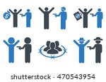 thief arrest glyph icons. icon... | Shutterstock . vector #470543954