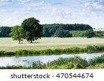 countryside landscape in rural...   Shutterstock . vector #470544674