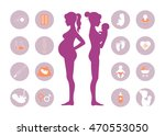 pregnancy and newborn baby... | Shutterstock .eps vector #470553050