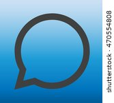 message sign.comment icon vector