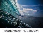 beautiful ocean background big...   Shutterstock . vector #470582924