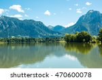 nice forggensee at fuessen in... | Shutterstock . vector #470600078