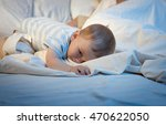 toned image of adorable baby... | Shutterstock . vector #470622050