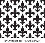 vintage vector seamless pattern   Shutterstock .eps vector #470635424