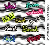 sticker pin trendy label patch... | Shutterstock .eps vector #470654000