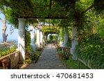 the public gardens of the villa ... | Shutterstock . vector #470681453