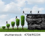 business growth people success... | Shutterstock . vector #470690234