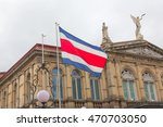 costa rican flag and national... | Shutterstock . vector #470703050