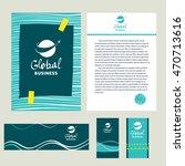 logotype for branding business... | Shutterstock . vector #470713616