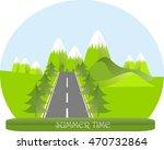 series four seasons. mountain... | Shutterstock .eps vector #470732864