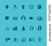 business training icon set | Shutterstock .eps vector #470736950
