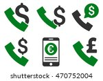 phone order vector icons.... | Shutterstock .eps vector #470752004
