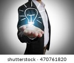 hands of business person... | Shutterstock . vector #470761820