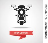mortocycle icon | Shutterstock .eps vector #470784053