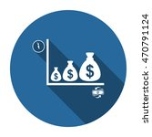 money icon  vector  icon flat