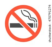 non smoking area sigh and... | Shutterstock .eps vector #470791274