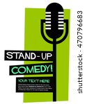 Stand Up Comedy   Flat Style...