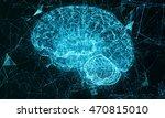 cyber brain. artificial... | Shutterstock . vector #470815010