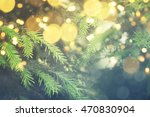 abstract christmas lights on... | Shutterstock . vector #470830904