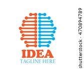 brain   ideas  creative mind... | Shutterstock .eps vector #470894789