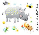 Merry Rhinoceros Birthday