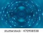 abstract fractal blue... | Shutterstock . vector #470908538