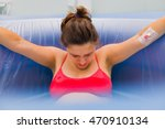 beautiful pregnant woman during ... | Shutterstock . vector #470910134