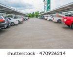 blur cars in parking lot | Shutterstock . vector #470926214