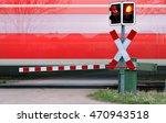 Train Passing Level Crossing ...