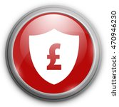pound sign with shield icon.... | Shutterstock .eps vector #470946230
