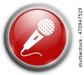 microphone icon. music sign | Shutterstock .eps vector #470947529