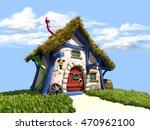 3d Illustration   Tiny Dwarf...