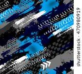 abstract seamless grunge... | Shutterstock .eps vector #470980919
