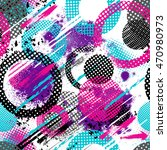 abstract seamless chaotic... | Shutterstock .eps vector #470980973