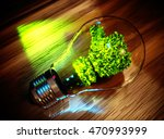 green innovation concept. 3d... | Shutterstock . vector #470993999