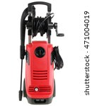 pressure washer on white... | Shutterstock . vector #471004019