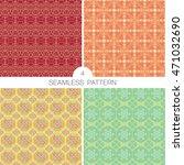 set of seamless pattern   Shutterstock .eps vector #471032690