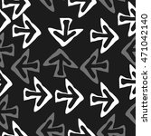 seamless pattern with arrows  ... | Shutterstock .eps vector #471042140