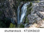 looking down a waterfall in... | Shutterstock . vector #471043610