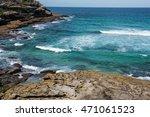 bondi to coogee coastal walk ... | Shutterstock . vector #471061523